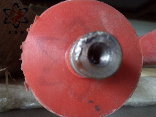 Orange Silicone Rubber Coating Part Roller pictures & photos