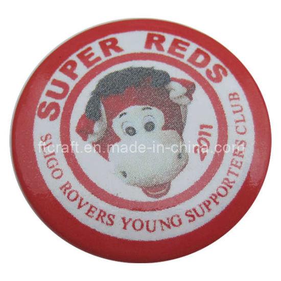 Tin Button Badge (FTBG1224)