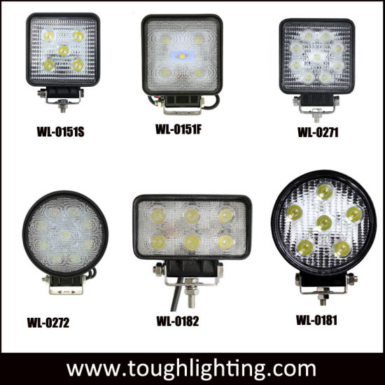 Auto Lights 4 Inch 18w Epistar Square Led Truck Work