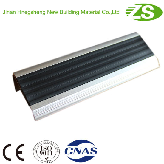 Home Use Safety Aluminum Stair Nosing for Vinyl Floor pictures & photos