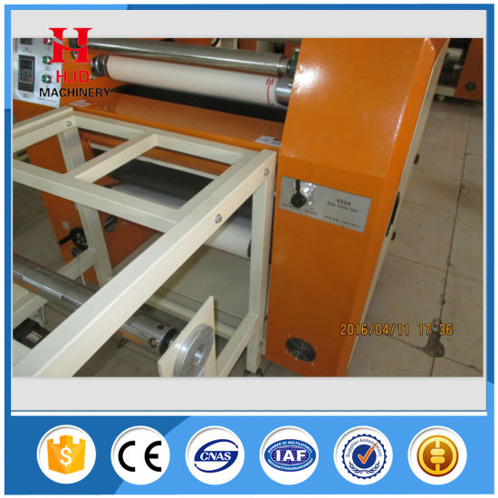 Oil Drum Ribbon Fabric Heat Transfer Printing Machine pictures & photos
