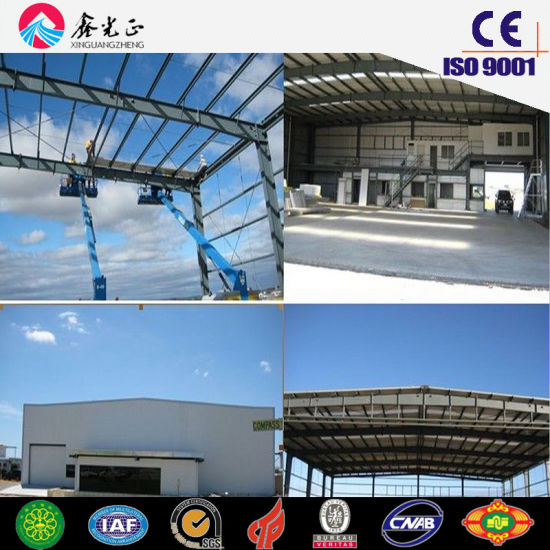 Steel Structure Shed/Prefabricated Shed (JW-16299)