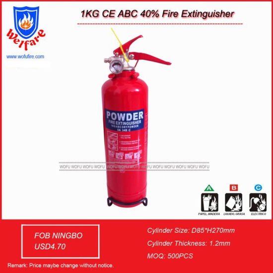 1kg CE Dry Powder Fire Extinguisher pictures & photos