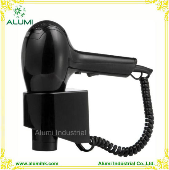 Hotel Wall Mounted 1800W Hair Dryer Hair Straightener with Sensor