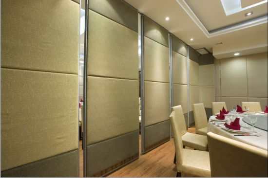 Soundproof Movable Partition Walls for Hotel/Conference Room/Multi-Purpose Hall pictures & photos