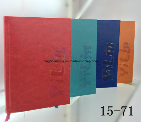 Printing 2017 Calendar Notebook with PU Leather pictures & photos