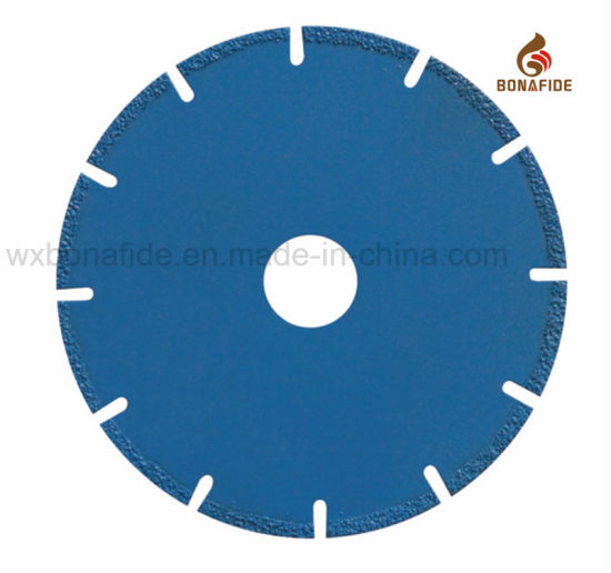 Popular Vacuum Brazed Diamond Saw Blade Segment U Solt pictures & photos