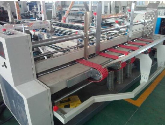 Automatic Folder and Gluer for Carton Making Machine pictures & photos