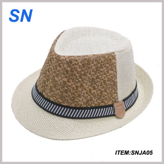 fcb414b0086 China New Design Custom Hat with Headband Straw Panama Hat - China ...