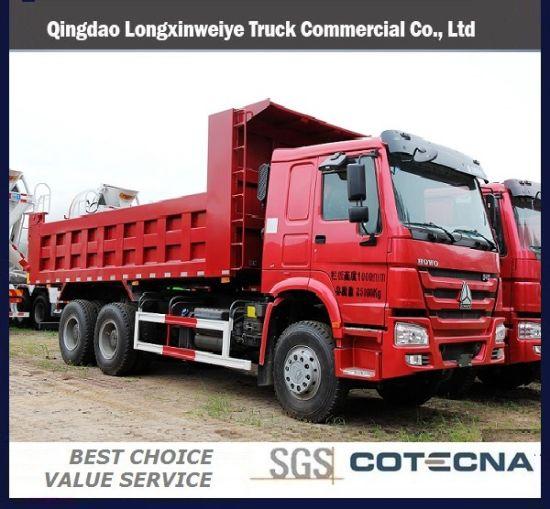 HOWO 6X4 336HP 10 Wheels Dump Tipper Truck with LHD/RHD
