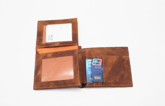 Classical Business PU Leather Men Wallet Mwt12-4