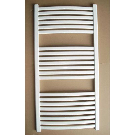 Low Carbon Steel Plastic-Coated Oval Towel Radiator
