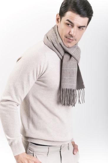 Men s Scarves Young Men s Latitude Wool Scarves Men