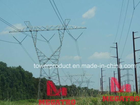 Megatro 230kv Lattice Tower and 138kv Monopole Structure (MGP-230&138)