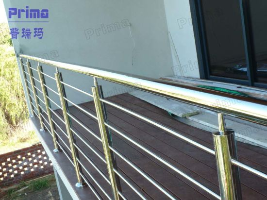 China Outdoor Stainless Steel Balcony Railing Design China