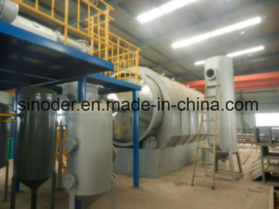 China New Designed Fuel Oil Distillation System Tyre Oil