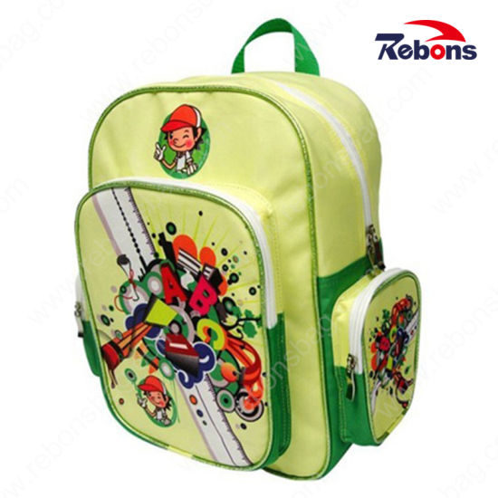 902abac1d5ec New Design Silk Screen Printing Popular Cartoon Picture School Bag for Kids  Children pictures   photos