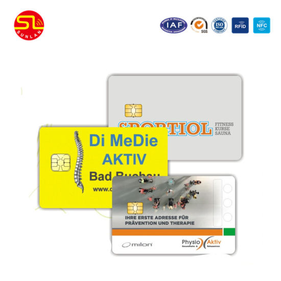 High Quality Contact IC Card with 24c Chip pictures & photos