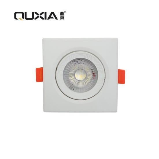 Square Shape Adjustable Good Price 3years Warranty COB LED Ceiling Spot Light