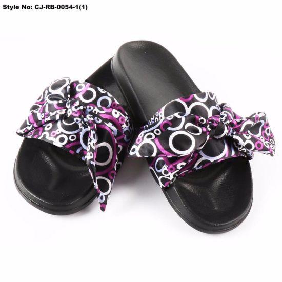1da8bd39dc75 China Cj-Rb-0055 New Design Ladys Custom Flip Flop Sandal - China ...