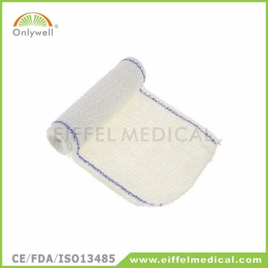 Spandex Cotton Emergency Rescue Medical Crepe Bandage pictures & photos
