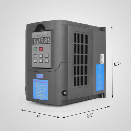 1.5kw 7A 220-250V Variable Frequency Drive Inverter VFD 2HP pictures & photos