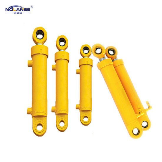 Custom Factory Design Telescopic Double Acting Stainless Steel Hydraulic Cylinder for Heavy Industrial Infrastructure Construction Engineering Machine