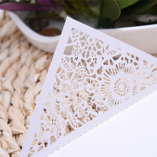 China hollow flowers laser cut wedding invitations engagement hollow flowers laser cut wedding invitations engagement wedding invitation card stopboris Gallery
