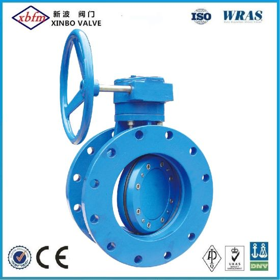 Double Flange Centreline Butterfly Valve pictures & photos