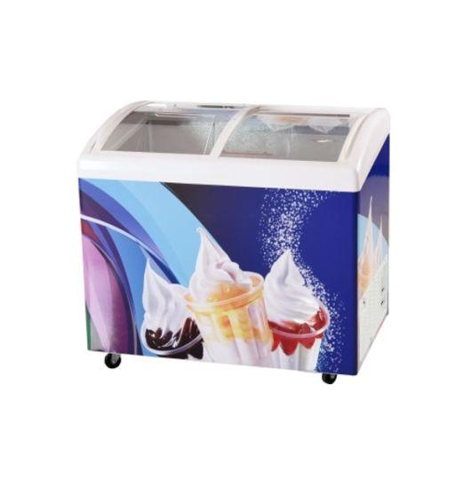 Household Kitchen Double Door Chest Freezer