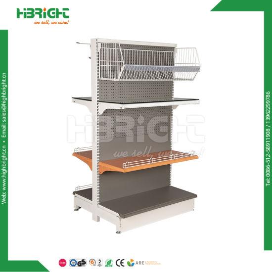 Good Price Asian Style Supermarket Rack Display Gondola Shelf