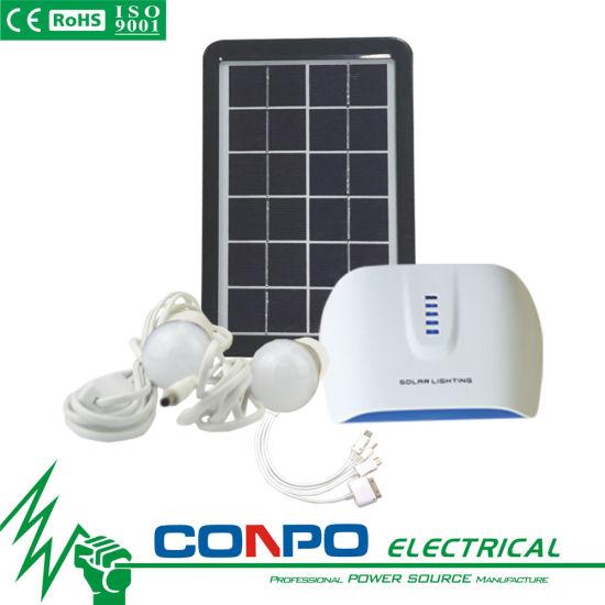 China Sg0403W 3W/6V, DC Portable Solar Lighting System - China Solar