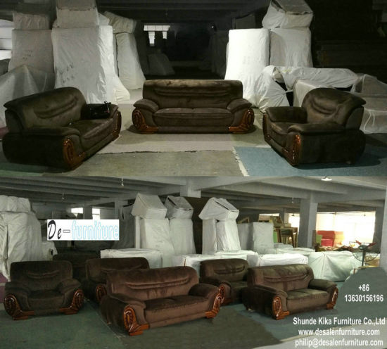 China Factory Wholesale Price Hotel Lobby Furniture Leather Sofa