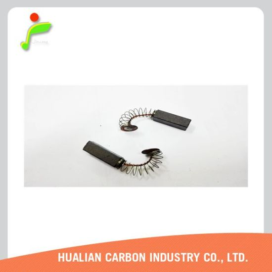 Carbon Brush for Power Tool Makita/Carbon Brush for Electric Water Pump/Tin Plating Carbon Brush Assembly pictures & photos