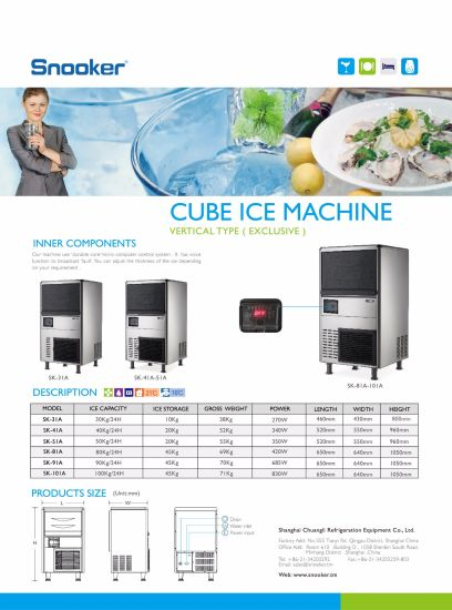 Good Price Commercial Block Ice Machine for Bars pictures & photos