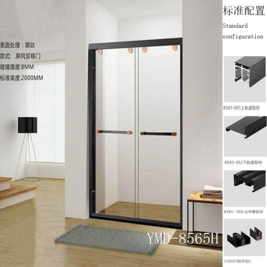Shower Enclosure Modern Design Simple Shower Room for Stainless Steel