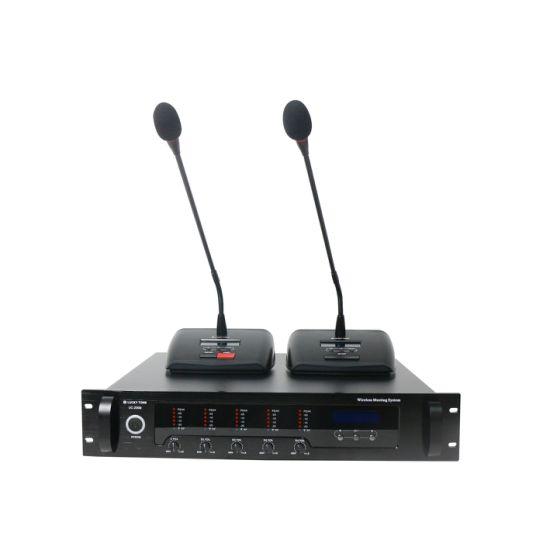 Professional Gooseneck Desktop UHF Wireless Conference Microphone System
