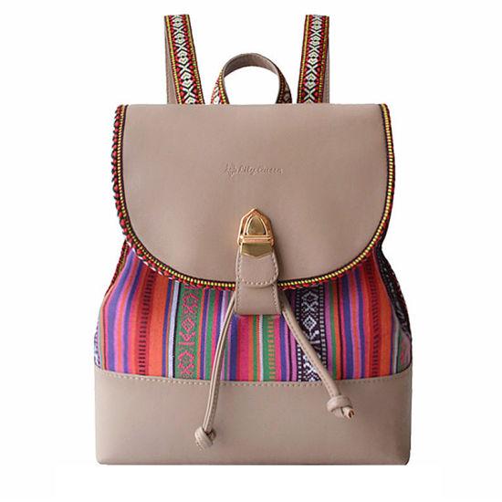 China New Arrival Women Backpack Bohemia Bag Cool Travel Rucksack ... 82674e7def96f