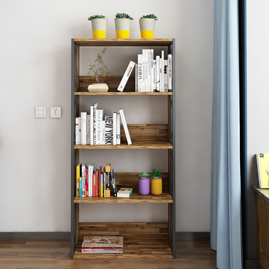 Best Selling Living Room Storage Cabinets Wood Bookshelf