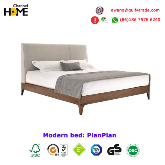 New Comfortable Harmonious and Modern Bedroom Bed Furniture (HCT20) pictures & photos