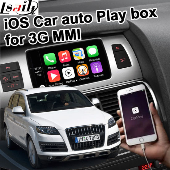 China Apple Carplay Box for Audi 3G Mmi A4 A6 Q7 etc - China Carplay
