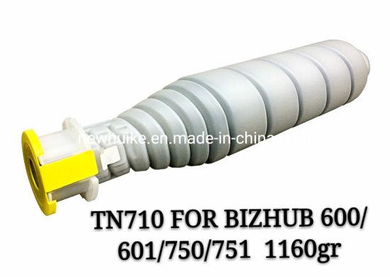 for Konica Minolta Tn710 Japan Toner Compatible Toner Cartridge for Copier Bizhub 600/601/750/751