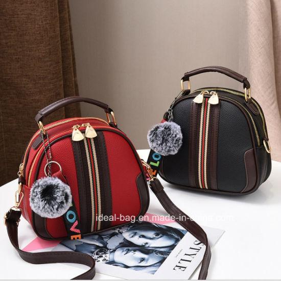 e48f46accad0 China Fashion Designer PU Leather Lady Handbag