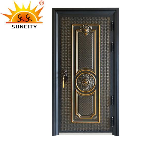 Luxury Security Entrance Front Door Design