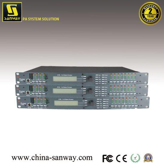 Ashly Digital 4 in and 8 Output Speaker Processor, DSP Audio Processor  (Protea 4 8SP)