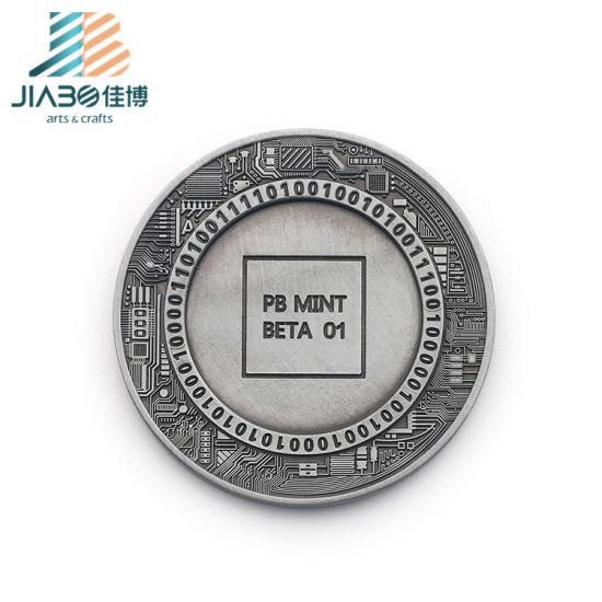 Custom Metal Black Nickel Blank Coins for Engraving
