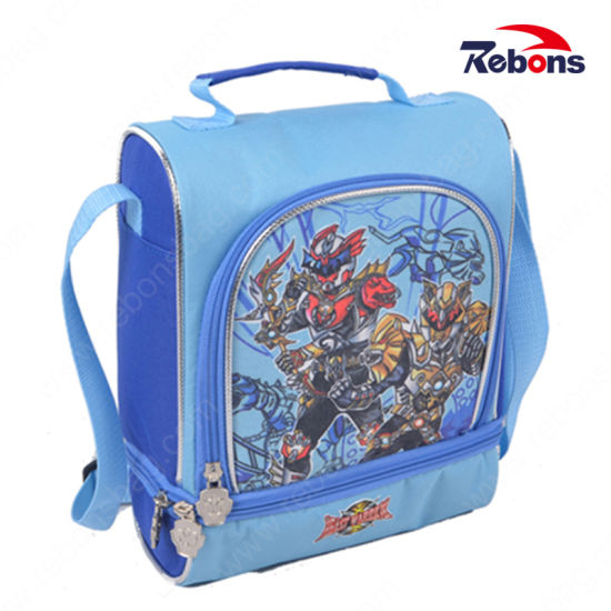 Multifunctional Compartment Pocket Utility Cute School Bag with Transformer Pattern
