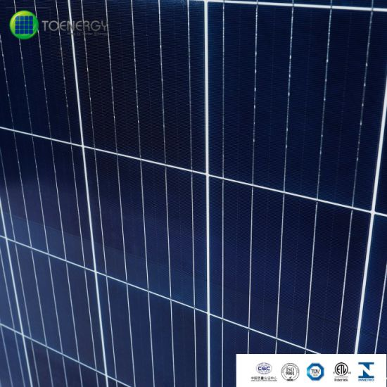 5bb 60cells 290W High Efficiency Poly Solar Panels for Industrial Solar System pictures & photos