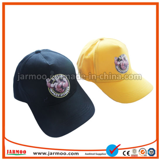 High Quality Promotional Heavy Brush Cotton Baseball Cap with Embroidery Logo pictures & photos