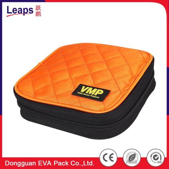 Customized Size Nylon Specialized Sleeve DVD Case Factory